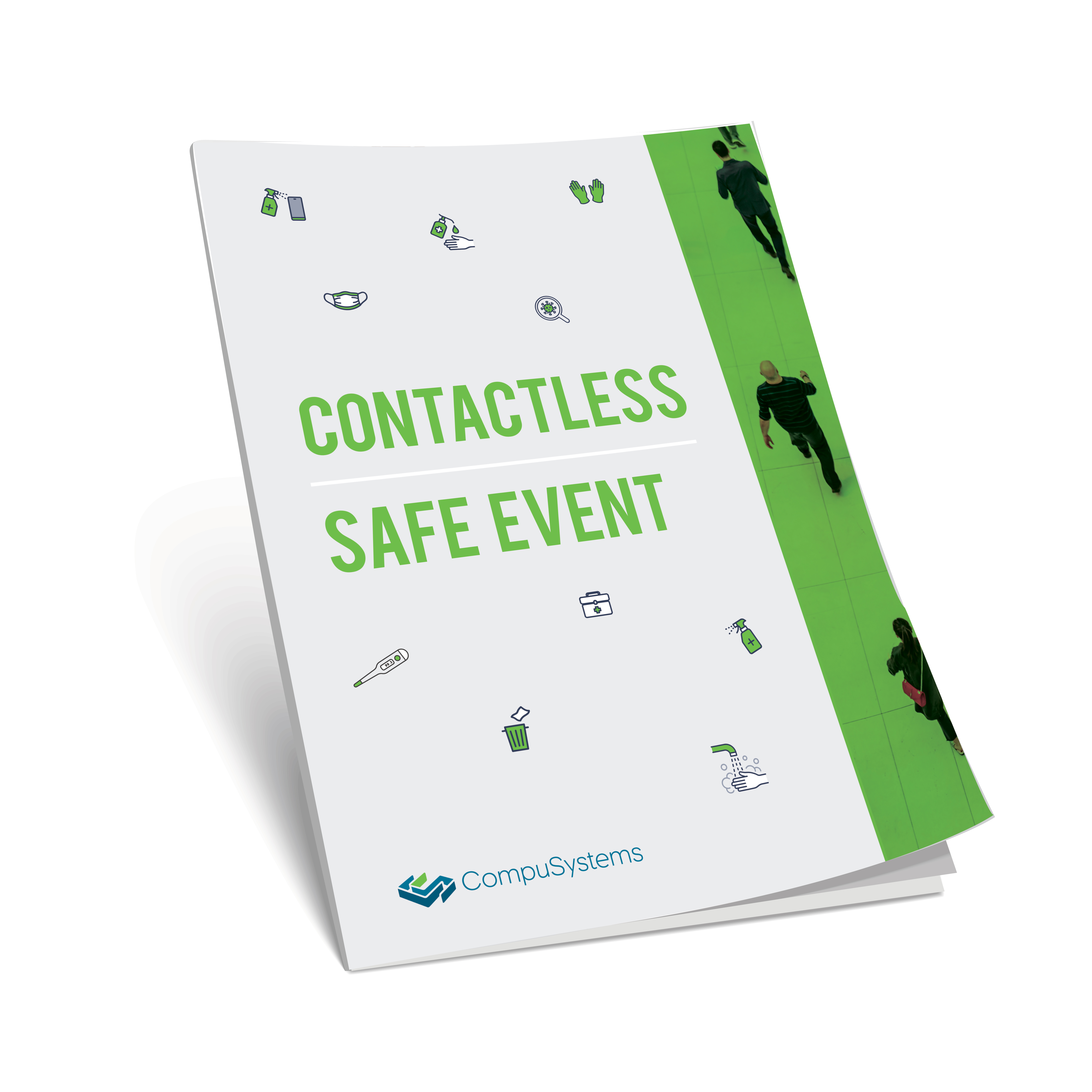 Safe Event magazine cover mockup
