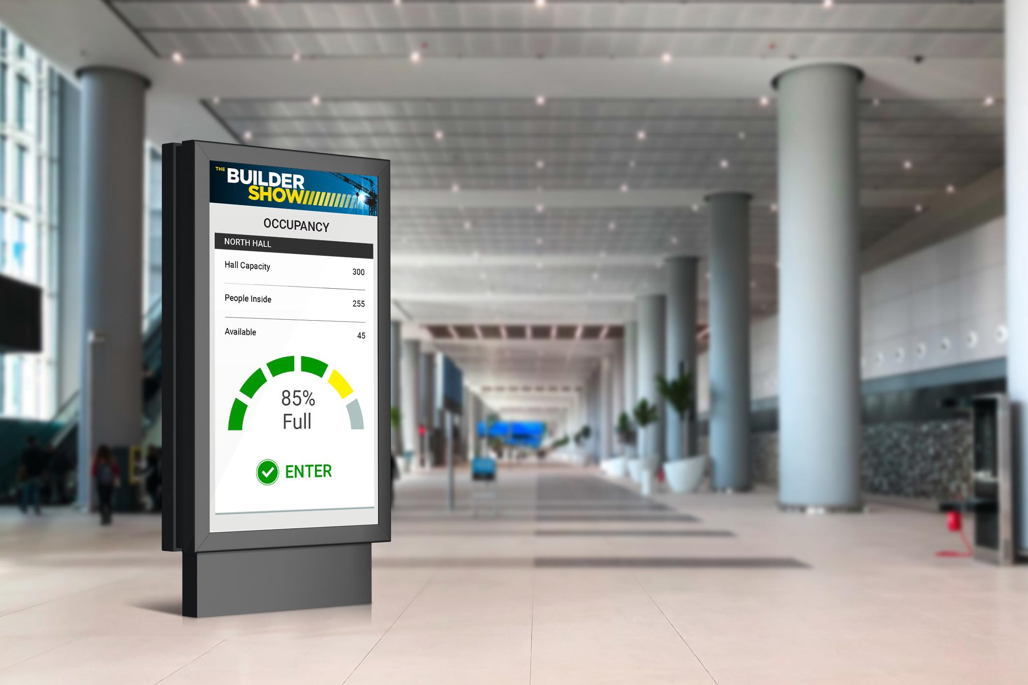 digital display mockup 1 hall occupancy access control_08.17.20